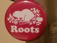 Roots Canada custom Toronto button